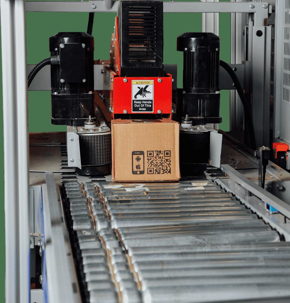 Case Sealer sealing box with tape