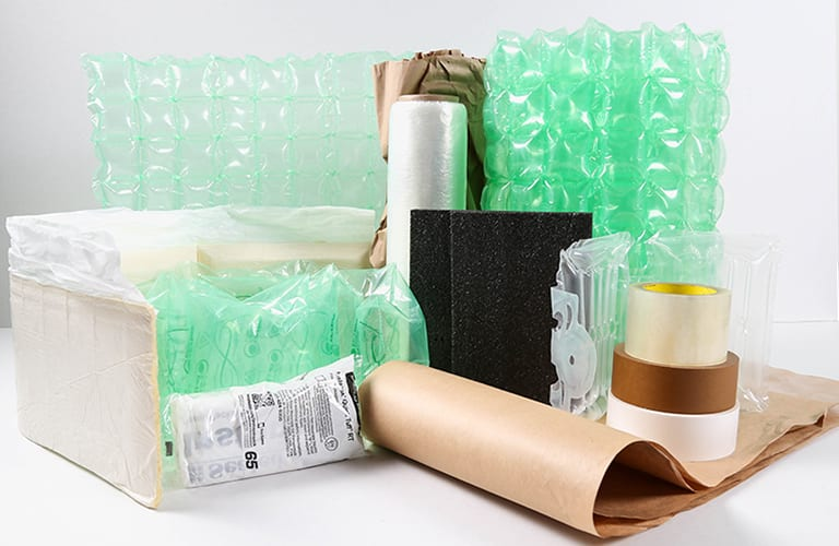 Packaging Supplies grouped together